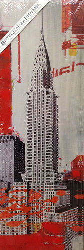 Wandbild Empire State Building Print & Paint 30 x 90 cm