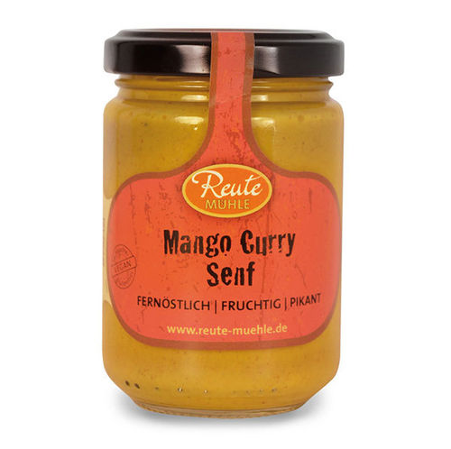 Mango Curry Senf, 140ml